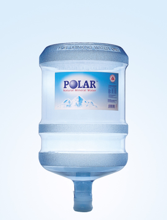 Polar Natural Mineral Water 19L