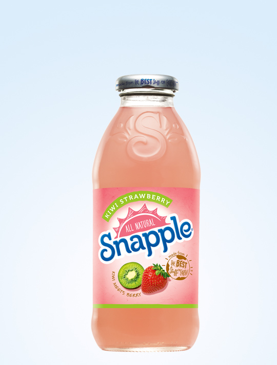 Snapple Kiwi Strawberry (Glass)