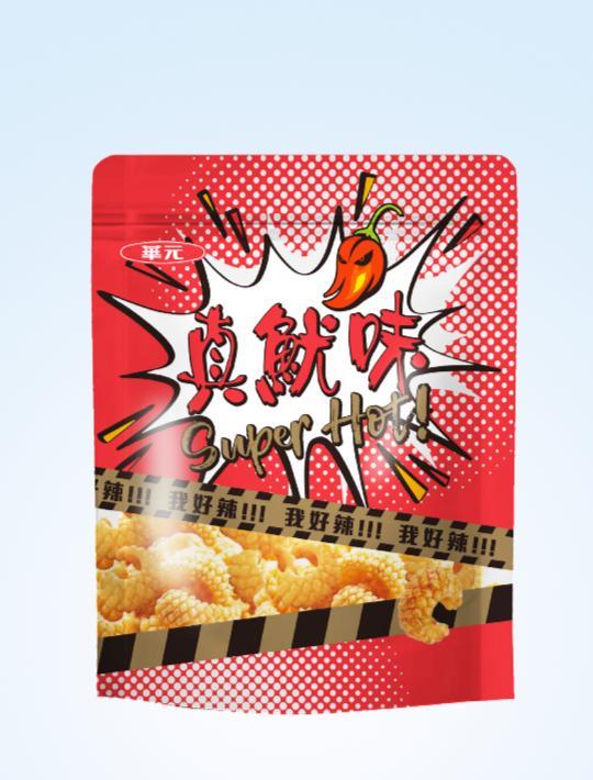ZhenYouWei Cuttlefish Cracker Spicy 200g