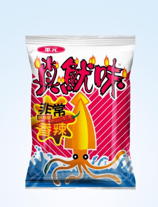 ZhenYouWei Cuttlefish Cracker Spicy 55g