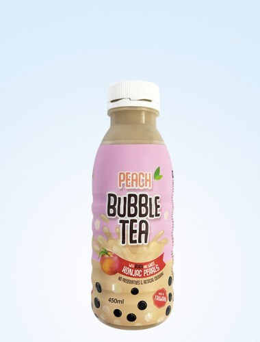 BubbleTea Peach 450ml