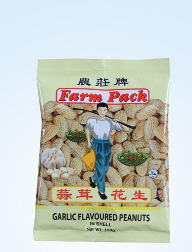 Farm Pack Garlic Peanut 120g