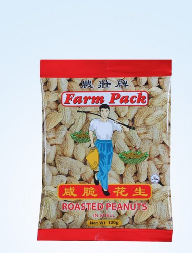 Farm Pack Roasted Peanut 120g