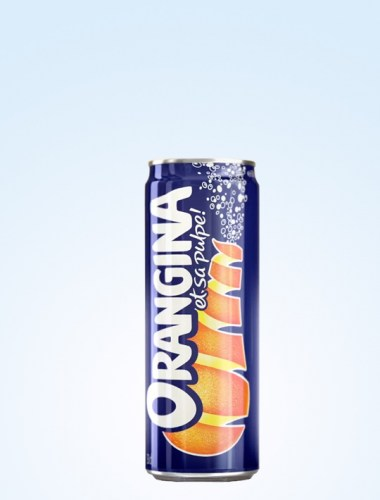 Orangina Sparkling Drink Can 330ml