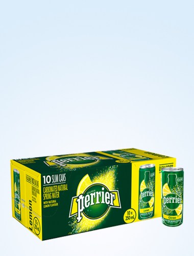 Perrier Sparkling Mineral Water - Lemon 250ml