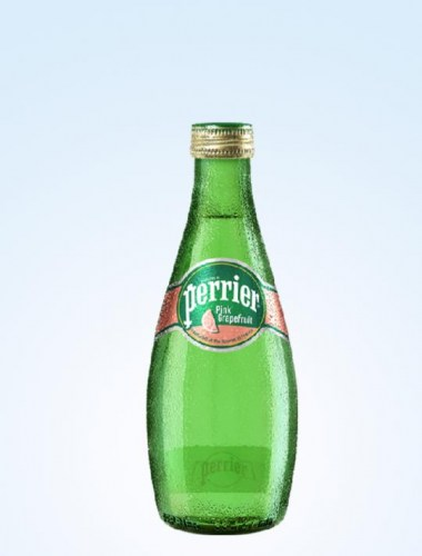 Perrier Sparkling Mineral Water - Pink Grapefruit 330ml