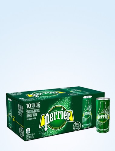 Perrier Sparkling Mineral Water - Regular 250ml